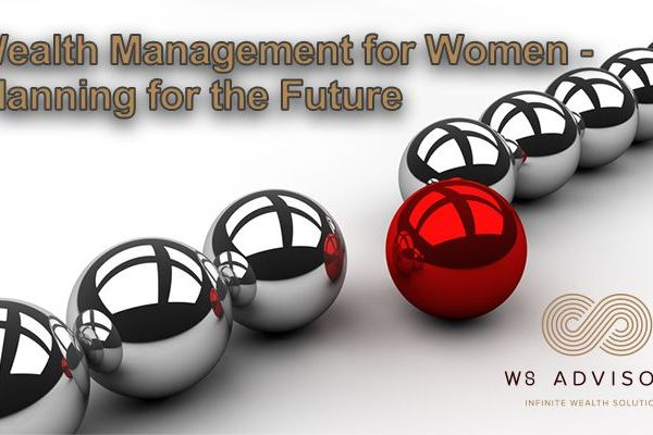 LinkedIn Banner Wealth management for women Future planning Article v2 flat