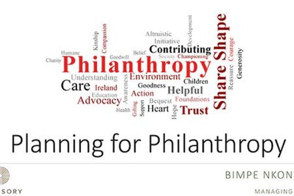 W8 Advisory Linkedin Published Article Image - Planning for Philanthropy
