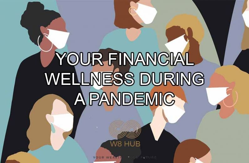 Blog Banner image financial wellness pandemic