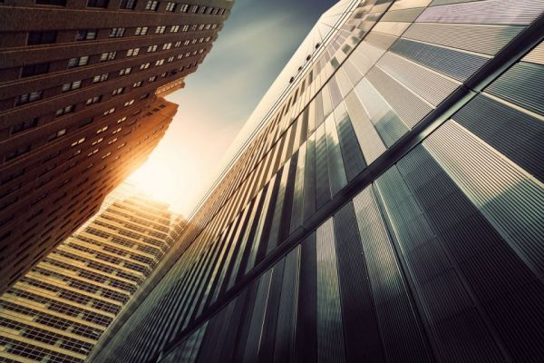 Image of Skyscraper skyline from the ground | W8 Advisory | Corporate advisory services for Africans